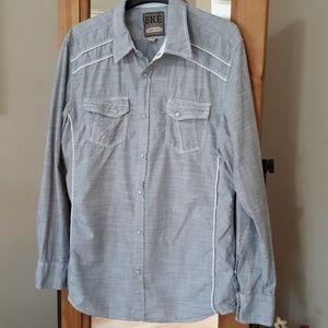 Men's BKE Snap Button Shirt